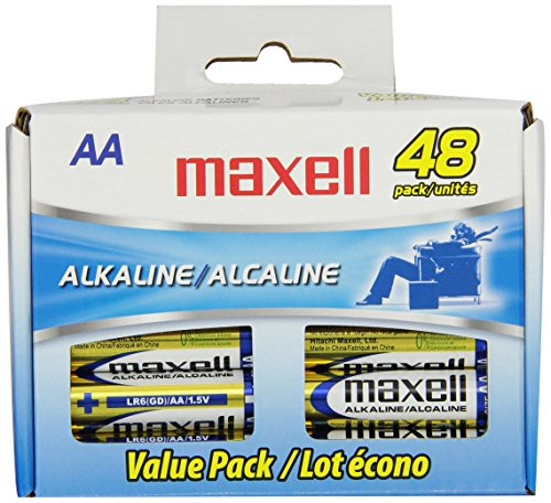 Maxell Lr6 Aa Cell 48 Pack Box Battery (723443) front-576851