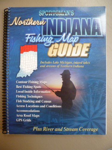 Northern Indiana Fishing Map Guide (Sportsman's Connection)