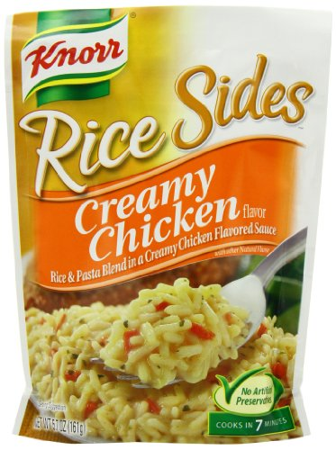 Knorr/Lipton Rice Sides, Creamy Chicken, 5.7-Ounce Packages (Pack of 12)