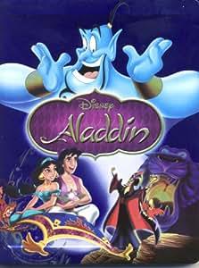 Aladdin BD SteelBook Retail [Blu-ray] [Region Free]