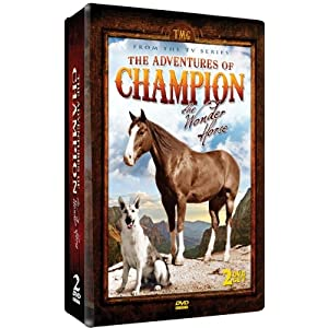 Adventures of Champion 2 DVD Set - SPECIAL EMBOSSED TIN - 10 Exciting Episodes from the television series! movie