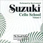 Suzuki Cello School, Volume Five: Per...