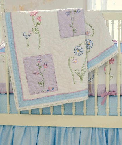 Whistle And Wink Nursery Quilt (Wildflower) front-1031804