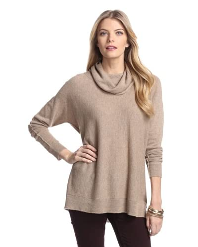 Cullen Women's Cowl Neck Cashmere Sweater  [Sable]