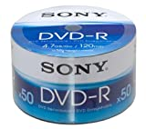 Sony DMR 47 - 50 x DVD-R - 4.7 GB ( 120min ) 1x - 16x - Brick - storage media