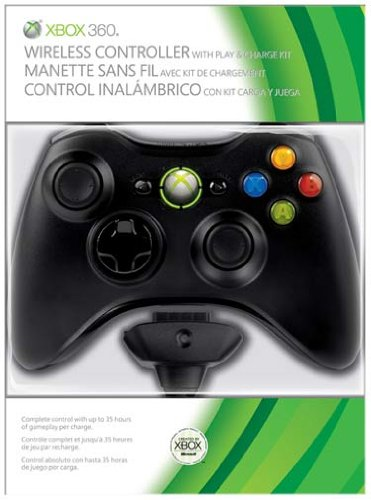 Wireless Controller plus Play and Charge Kit (Xbox 360)
