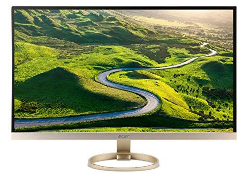 Acer H277HU kmipuz 27-Inch IPS WQHD 2560 x 1440 Display, USB 3.1 Type-C port, HDMI, DP, 2 x 3w speakers (Type C 2x2 compare prices)