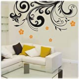 Wall Stickers Floral Design 1076