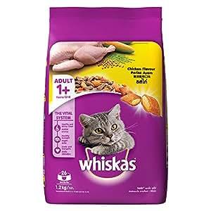 Whiskas Adult Cat Food Chicken, 1.2 kg Pack