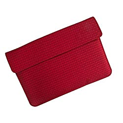 i-KitPit : PU Leather Pouch Case For Huawei Mediapad (RED)