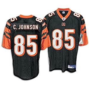 Reebok Cincinnati Bengals Chad Ochocinco Replica Jersey Medium by Reebok