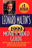 Leonard Maltin's Movie & Video Guide 1999 (0452279925) by Maltin, Leonard
