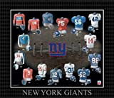 51A1ZWrIwCL. SL160  NFL New York Giants Evolution of The Team Uniform Framed Photograph