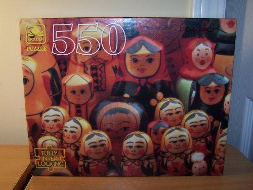Golden 550 Pc. Puzzle - Nostalgic Stacking Dolls