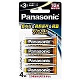 パナソニック リチウム乾電池 1.5V 単3形 4本パック