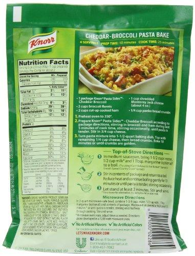 Knorr Pasta Sides Pasta Side Dish Cheddar Broccoli 4 3 Oz