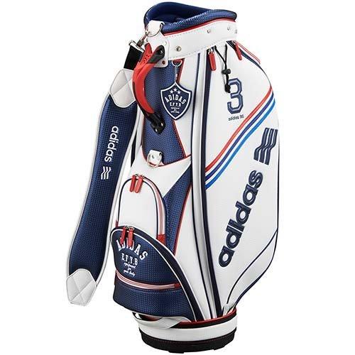 adidas Golf(アディダスゴルフ) QR860 ADICROSS キャディバッグ1 A15204 ホワイト/ネイビー