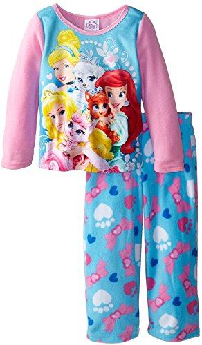 Disney Girls Princess Pajama Set front-103715