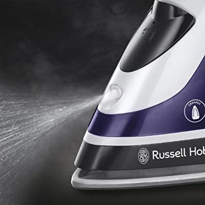 Russell Hobbs 18681 Auto Steam Pro Iron - 2400 Watt - Purple