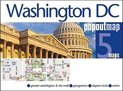 Washington DC PopOut Map (PopOut Maps)