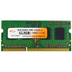 Dolgix 8 GB DDR3-1600 MHz RAM, Memory Module for Laptop