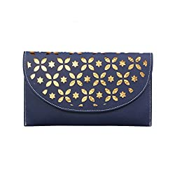ZAB Navyblue Trendy Handbag Cum Sling Bag for Women-ZAPL002