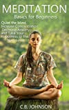 Meditation Basics for Beginners: Quiet the Mind, Increase Concentration, Decrease Anxiety, and Take Your Happiness to the Next Level (Mindfulness, Meditation ... Mindful Meditation, Stress Management)