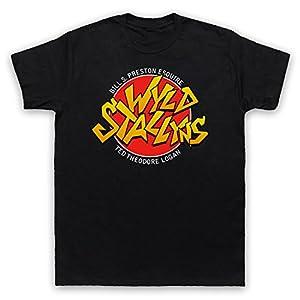 Bill & Teds Excellent Adventure Wyld Stallyns Mens T-Shirt