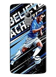 Blue Throat Beilve Achice Printed Designer Back Cover/ Case For Lenovo K4 Note