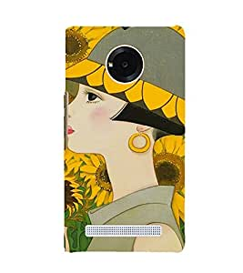 ifasho Designer Phone Back Case Cover YU Yuphoria :: YU Yuphoria YU5010 ( Colorful Pattern Design )