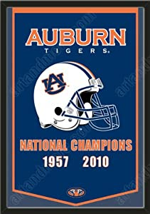 Dynasty Banner Of Auburn Tigers-Framed Awesome & Beautiful-Must For A... by Art and More, Davenport, IA