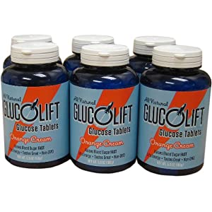 GlucoLift Orange Cream 6-pack