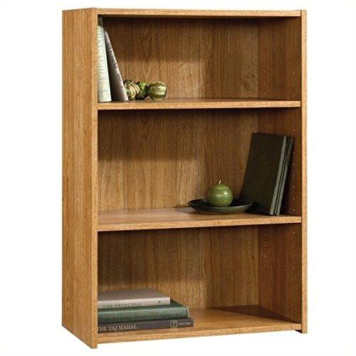 Sauder Beginnings 3-Shelf Bookcase, Highland Oak (3 Shelf Bookshelf compare prices)