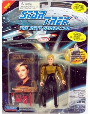 "4.5"" Lieutenant Natasha Yar, Security Chief of the U.S.S. Enterprise NCC-1701-D - Star Trek: The Next Generation - 1"