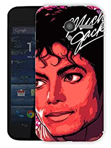 "Michael Jackson The Legend Printed Designer Mobile Back Cover For ""Motorola Moto X"" By Humor Gang (3D, Matte Finish, Premium Quality, Protective Snap On Slim Hard Phone Case, Multi Color)"