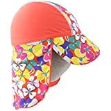 Magideal Kids Children UPF 50+ UV Protection Beach Sun Hat Neck Ear Cover Flap Cap 08