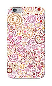 CimaCase Abstract Hearts Designer 3D Printed Case Cover For Apple iPhone 6
