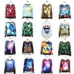 S-ZONE� New 2014 3D Print Sweatshirts...
