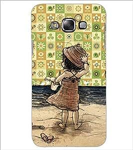 Printdhaba Cartoon D-4653 Back Case Cover For Samsung Galaxy A7