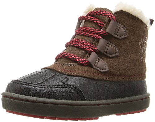 OshKosh B'Gosh Boys' Harrison  Boot, Black/Brown, 11 M US Little Kid (Kids Boots For Boys compare prices)