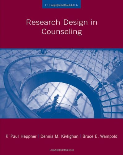 Research Design in Counseling (Research, Statistics,...