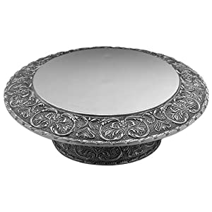 Wilton Armetale William And Mary Cake Stand
