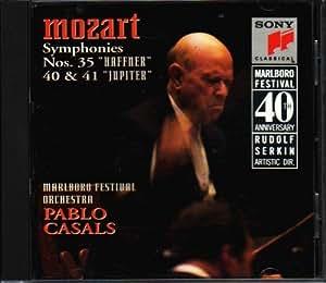 Pablo Casals - Marlboro Festival Orchestra Casals Conducts Mozart: The Last Six Symphonies