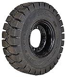 フォークリフトノーパンクタイヤ 全リフトメーカー対応 6.50-10/5.00F 6.50-10/5.00F(黒)