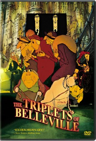 Cover art for  The Triplets of Belleville