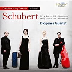 Schubert: String Quartets Vol. 1