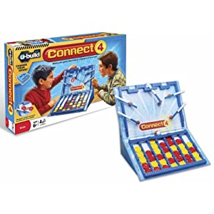 U-Build Connect 4 game!