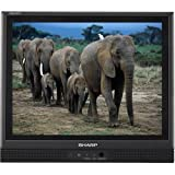 Sharp Aquos LC-15S1UB 15-Inch Flat-Panel LCD TV, Black