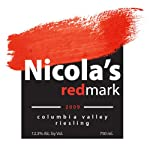 2009 Nicola's redmark Riesling Washington Wine 750 mL