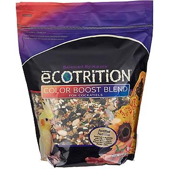 Cheap 8 in 1 Ecotrition Color Boost Blend for Cockatiels, 2 lbs (P-84048)